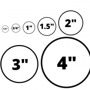 Blank Inventory Circle Labels